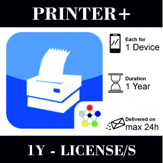 Printer+ 1 year License for...