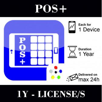 POS+ Licencia de 1 año para...
